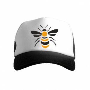 Czapka trucker dziecięca Bee sitting