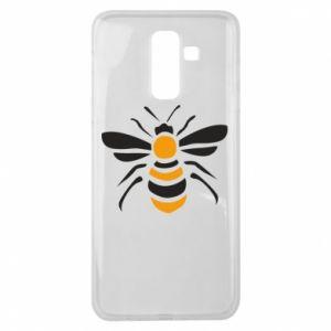 Etui na Samsung J8 2018 Bee sitting