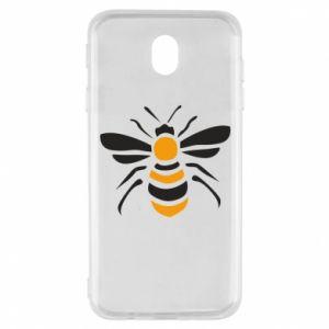 Etui na Samsung J7 2017 Bee sitting