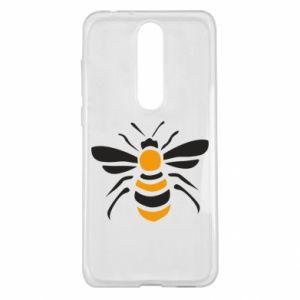 Etui na Nokia 5.1 Plus Bee sitting