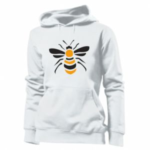 Women's hoodies Bee sitting - PrintSalon