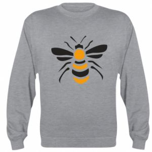 Sweatshirt Bee sitting - PrintSalon