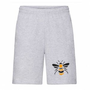 Men's shorts Bee sitting - PrintSalon