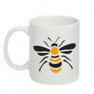 Mug 330ml Bee sitting - PrintSalon