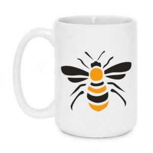Mug 450ml Bee sitting - PrintSalon