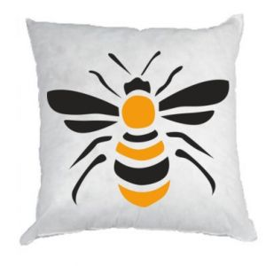 Pillow Bee sitting - PrintSalon