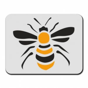 Mouse pad Bee sitting - PrintSalon