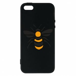 Phone case for iPhone 5/5S/SE Bee sitting - PrintSalon