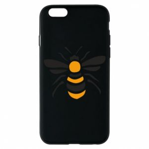 Phone case for iPhone 6/6S Bee sitting - PrintSalon