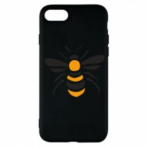 Phone case for iPhone 7 Bee sitting - PrintSalon