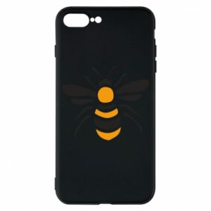 Phone case for iPhone 8 Plus Bee sitting - PrintSalon