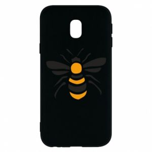 Phone case for Samsung J3 2017 Bee sitting - PrintSalon
