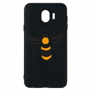 Phone case for Samsung J4 Bee sitting - PrintSalon