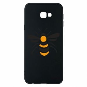 Phone case for Samsung J4 Plus 2018 Bee sitting - PrintSalon