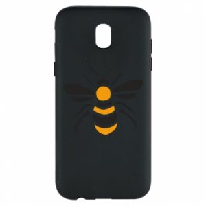 Phone case for Samsung J5 2017 Bee sitting - PrintSalon