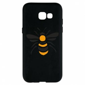 Phone case for Samsung A5 2017 Bee sitting - PrintSalon