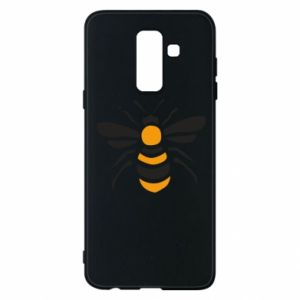 Phone case for Samsung A6+ 2018 Bee sitting - PrintSalon