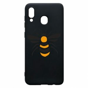 Phone case for Samsung A20 Bee sitting - PrintSalon