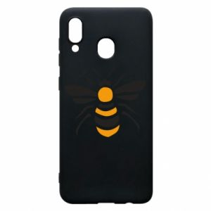 Phone case for Samsung A30 Bee sitting - PrintSalon