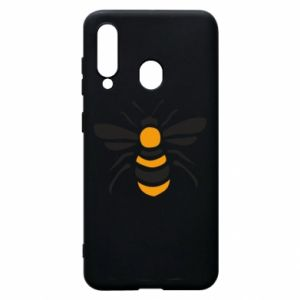 Phone case for Samsung A60 Bee sitting - PrintSalon