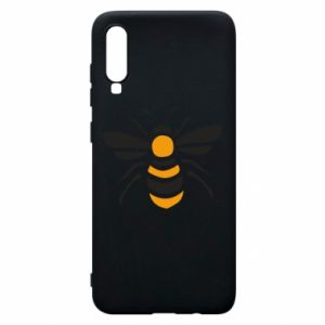 Phone case for Samsung A70 Bee sitting - PrintSalon