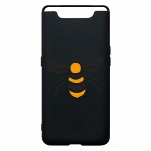 Phone case for Samsung A80 Bee sitting - PrintSalon