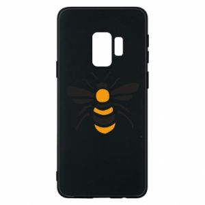 Phone case for Samsung S9 Bee sitting - PrintSalon