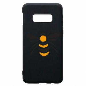 Phone case for Samsung S10e Bee sitting - PrintSalon