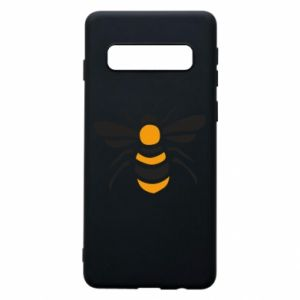 Phone case for Samsung S10 Bee sitting - PrintSalon