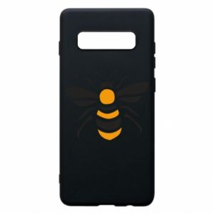 Phone case for Samsung S10+ Bee sitting - PrintSalon