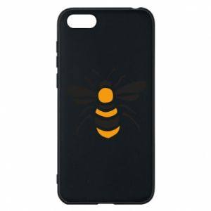 Phone case for Huawei Y5 2018 Bee sitting - PrintSalon