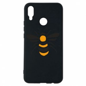 Phone case for Huawei P Smart Plus Bee sitting - PrintSalon