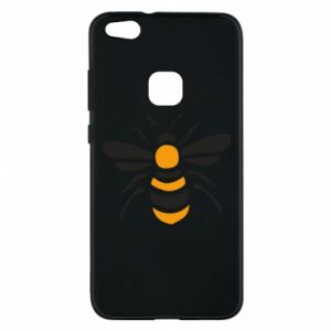 Phone case for Huawei P10 Lite Bee sitting - PrintSalon