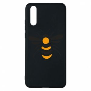 Phone case for Huawei P20 Bee sitting - PrintSalon