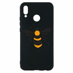 Phone case for Huawei P20 Lite Bee sitting - PrintSalon