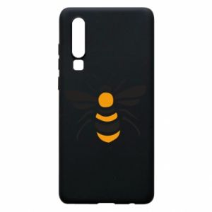 Phone case for Huawei P30 Bee sitting - PrintSalon