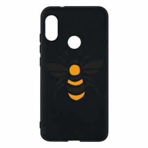 Phone case for Mi A2 Lite Bee sitting - PrintSalon