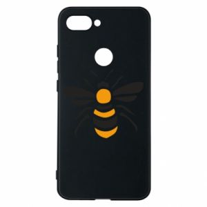 Phone case for Xiaomi Mi8 Lite Bee sitting - PrintSalon