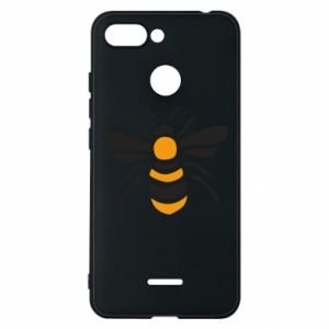 Phone case for Xiaomi Redmi 6 Bee sitting - PrintSalon