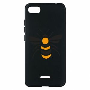 Phone case for Xiaomi Redmi 6A Bee sitting - PrintSalon