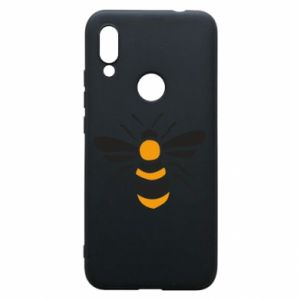 Phone case for Xiaomi Redmi 7 Bee sitting - PrintSalon
