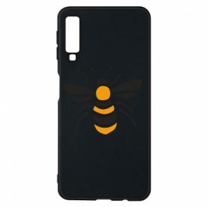 Phone case for Samsung A7 2018 Bee sitting - PrintSalon