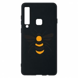 Phone case for Samsung A9 2018 Bee sitting - PrintSalon