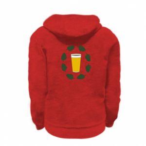 Bluza na zamek dziecięca Beer and cannabis