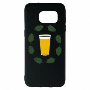 Etui na Samsung S7 EDGE Beer and cannabis