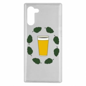Etui na Samsung Note 10 Beer and cannabis