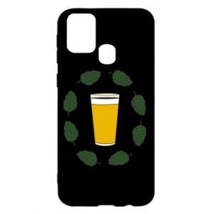 Etui na Samsung M31 Beer and cannabis