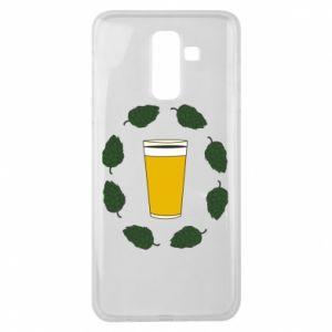 Etui na Samsung J8 2018 Beer and cannabis