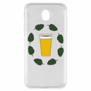 Etui na Samsung J7 2017 Beer and cannabis