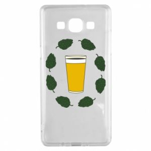 Etui na Samsung A5 2015 Beer and cannabis